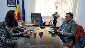 Întrevederea ministrului Natalia Elena Intotero cu reprezentanți UMFST