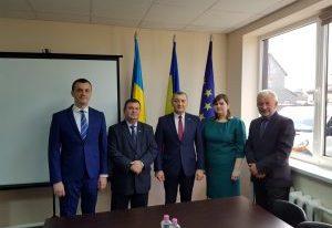 Vizita secretarului de stat Alexeev la Solotvino