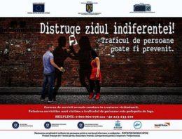 """Participarea subsecretarului de stat Victor Ionescu la campania """"Distruge Zidul Indiferenței !"""""""
