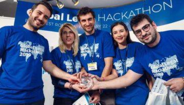 La New York, cinci români au câștigat una dintre cele mai mari competiții de programare cu proiecte juridicie.