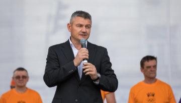 Candidatul Republicii Moldova la Premiul Nobel pentru Pace 2019, înotătorul Ion Lazarenco, a participat la cea de-a 9-a ediție a Olympic Fest