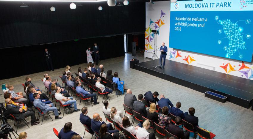 FOTO / Eveniment la Chișinău: Moldova IT Park, la 1 an de activitate