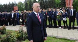 Pavel Filip: Ziua Victoriei și Ziua Europei sunt strâns legate: cinstim eroii care au luptat pentru pace și ne gândim la viitorul european al țării noastre