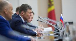 Întrevedere premierul Pavel Filip – vicepremierul rus Dmitri Kozak: Există interes comun de a coopera în beneficiul cetățenilor celor două state
