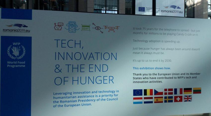 """Expoziția """"Explorarea puterii de inovare pentru prevenirea și soluționarea crizelor"""" organizată la Bruxelles de către Președinția României la Consiliul UE"""