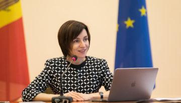 """Vicepreședintele Parlamentului European, în discuții cu Prim-ministrul Maia Sandu: """"Acum chiar vedem premise pentru o schimbare în interesul cetățenilor"""""""
