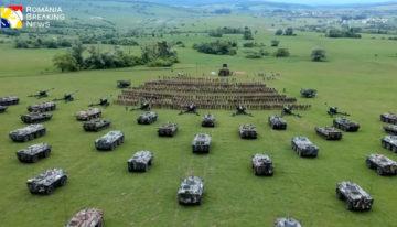 """Imagini spectaculoase cu dispozitivul Forțelor Terestre Române la """"Saber Guardian 2019"""""""