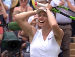 Simona Halep a câştigat finala turneului de la Wimbledon, după ce a învins-o pe americanca Serena Williams, la capătul unui meci de zile mari.