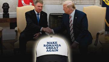 """""""MAKE ROMANIA GREAT AGAIN"""" / Comitetul Romano-American pentru Basarabia îi solicită președintelui Donald Trump sprijin pentru Reîntregirea României"""