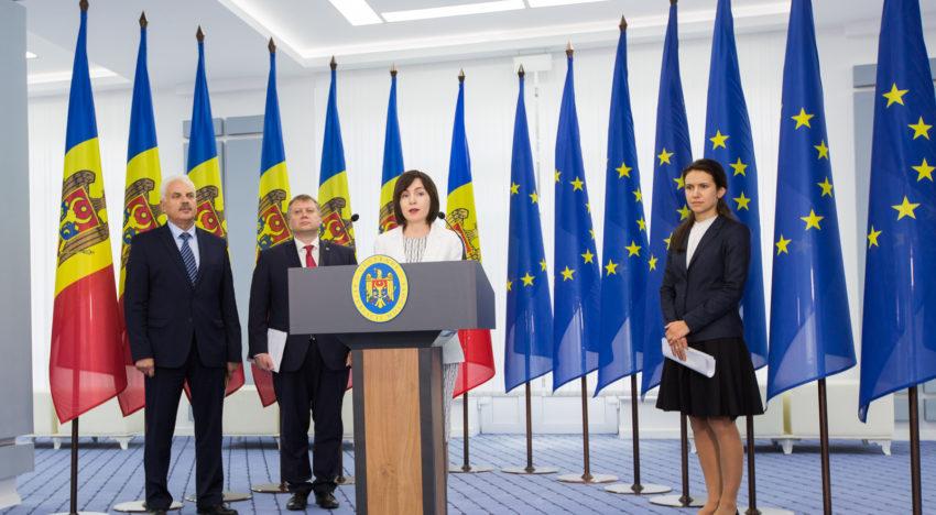 Guvernul Maia Sandu a dat publicității raportul cu acțiunile întreprinse în primele 100 de zile de guvernare a Republicii Moldova