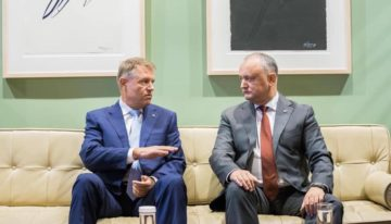 Președinții Iohannis și Dodon s-au întâlnit la New-York. Federalizarea RM și Conflictul Transnitrean pe agenda discuțiilor