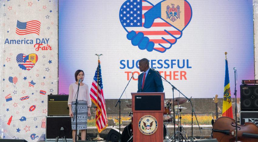 """Foto / """"Zilele Americii"""" în Republica Moldova"""