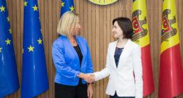 """Înaltul Reprezentant UE, Federica Mogherini, la Chișinău: """"Vedem schimbări pozitive în Republica Moldova"""""""