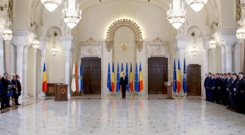 Governul Orban a depus jurământul de învestitură