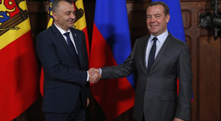 Noul premier al Republicii Moldova – Ion Chicu s-a întâlnit cu premierul Federației Ruse, Dmitrii Medvedev