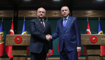 Cooperarea Strategică R. Moldova – Turcia, reafirmată prin întâlnirea Erdogan – Dodon