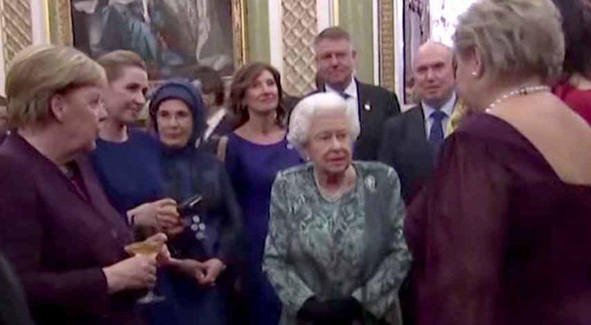 Video: Președinții Trump și Iohannis s-au întâlnit în prezența Reginei Elisabeta a II-a