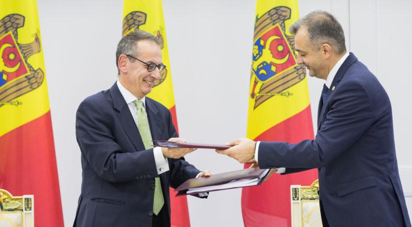 Guvernul Republicii Moldova a semnat un aranjament financiar cu BERD