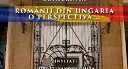 """Video: """"Românii din Ungaria …o perspectivă"""" și """"Cazul Ditrău"""" pe înțelesul tuturor – conferință pe Calea Victoriei din București"""