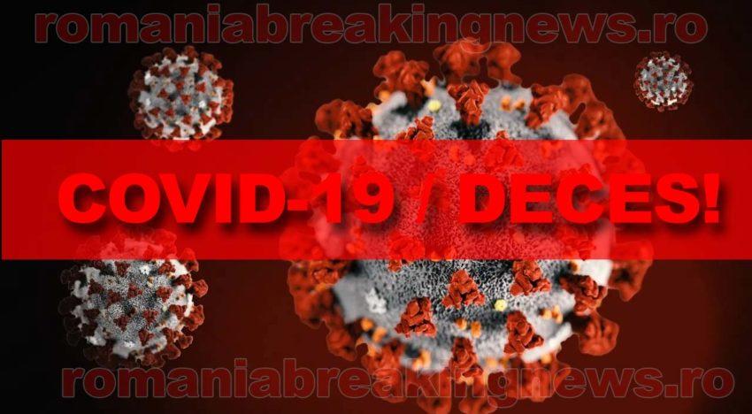 Al treilea deces pe teritoriul României al unei persoane infectate cu noul coronavirus (COVID-19)