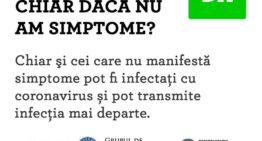 Atenție! Chiar dacă nu aveți simptome, puteți fi infectat și purtător de Coronavirus! Ce trebuie să faceți?
