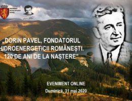 S-au împlinit 120 de ani de la nașterea lui Dorin Pavel, întemeietorul hidroenergeticii românesti. Eveniment online dedicat părintelui hidroenergeticii din România organizat la Sebeș