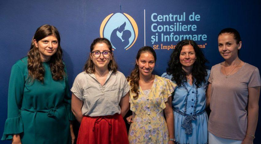 """Deschiderea Centrului de consiliere și informare """"Sfânta Împărăteasă Elena"""" din București"""