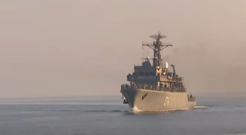 """Puitorul de mine """"Viceamiral Constantin Bălescu"""" participa la exerciţiul multinaţional NUSRET 20, organizat de Forţele Navale ale Turciei, în Marea Egee"""