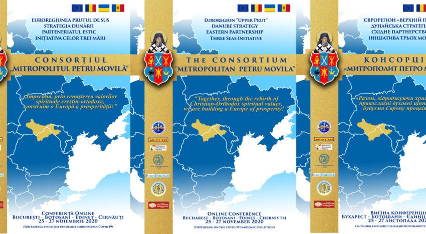 """S-a constituit Consorțiul """"Mitropolitul Petru Movilă"""". Punte de spiritualitate creştin-ortodoxă între România, Ucraina și Republica Moldova"""