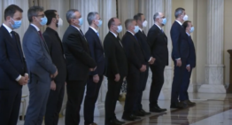 Video: Miniștrii guvernului Florin Cîțu au depus jurământul la Palatul Cotroceni