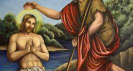 Sărbătorim Botezul Domnului, cunoscut în popor sub denumirea de Bobotează (Boboteaza – Dumnezeiasca Arătare. Harţi)