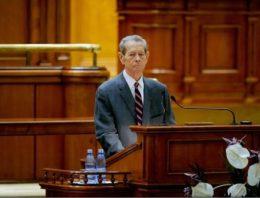 O sală din Palatul Parlamentului va purta numele Regelui Mihai I