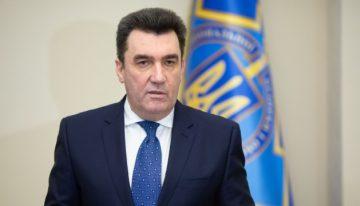 """""""Limba ucraineană în grafie latină și engleza a doua limbă utilizată"""" – declarația Secretarului Consiliului pentru Securitate Națională și Apărare din Ucraina, Oleksiy Danilov"""